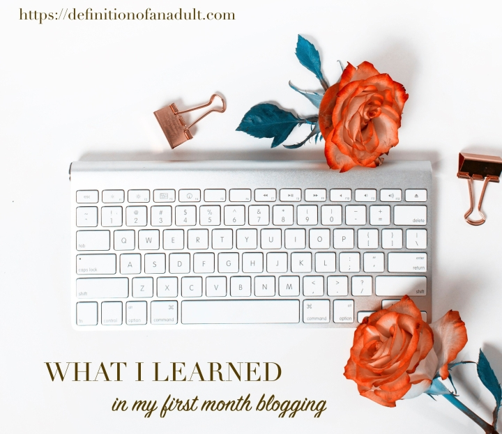 What I Learned in My First Month Blogging