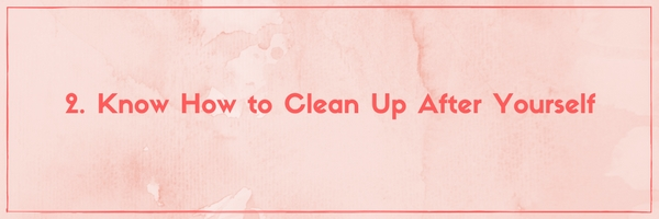 10 Things To Know About Moving Into A Share House Know How To Clean Up After Yourself