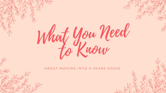Ten Things You Need to Know Before Moving into a Share House